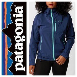 Patagonia Women's Stretch Rainshadow Jacket Navy